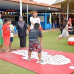 Coca-Cola Movement is Happiness - Giant hopscotch