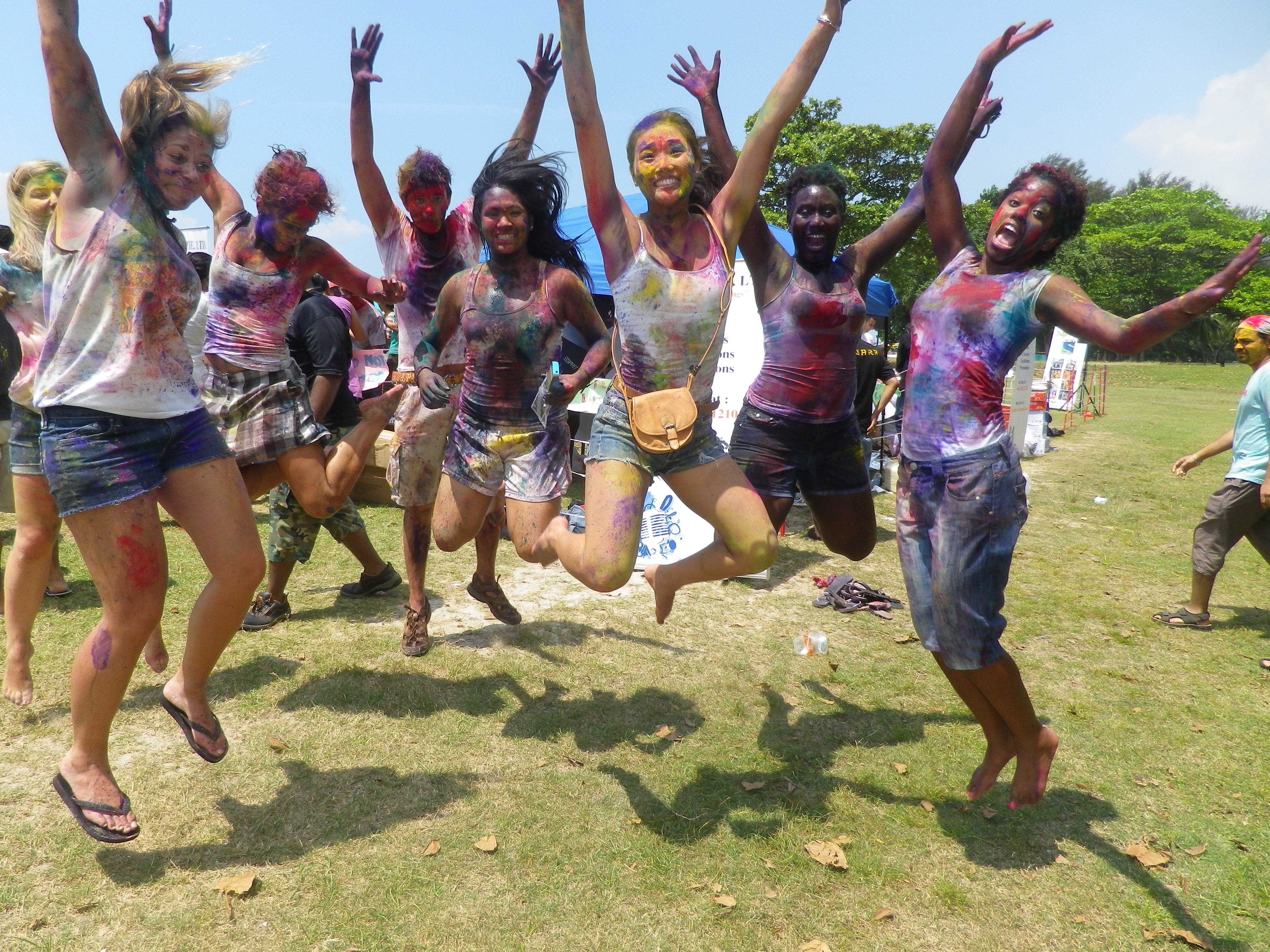 Holi 3 : Credit to Glover in Singapore