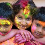 Holi Children : Credit to Photoburst