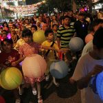 Lantern Walk : Credit to The Straits Times