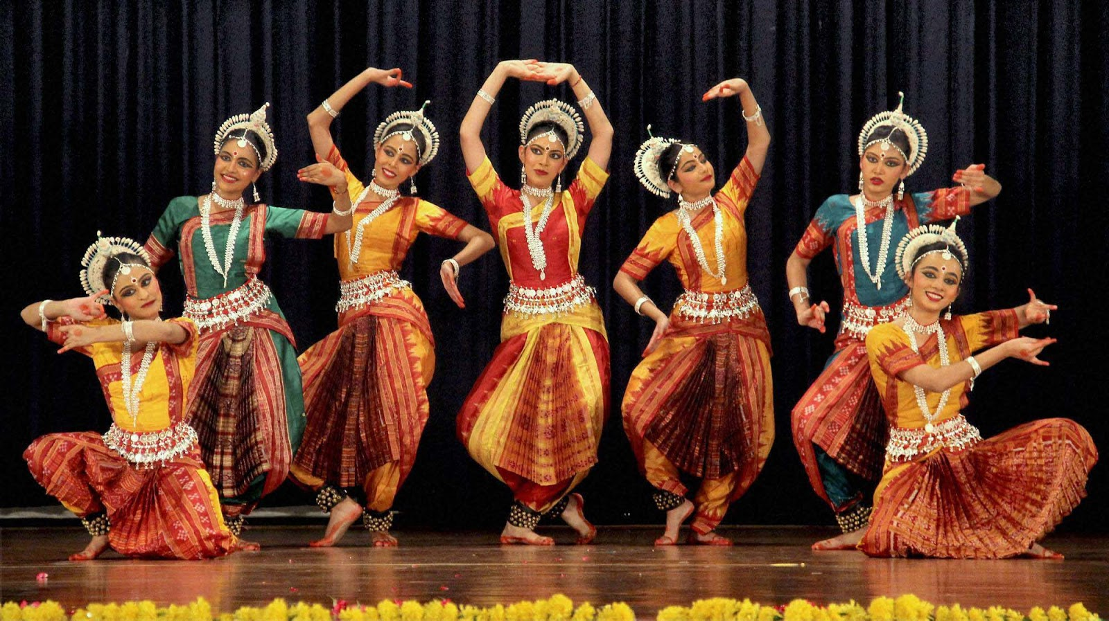 Indian Classical Dance Harmony Truck